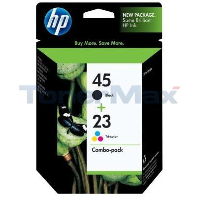 HP NO 45 23D INK BLACK/COLOR COMBO PACK